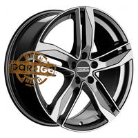 Fondmetal 8x18/5x112 ET29 D66,5 Hexis Gloss Black Machined