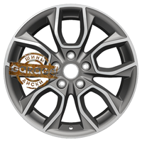 Khomen Wheels 7x17/5x114,3 ET45 D67,1 KHW1713 (CX-5) Gray-FP